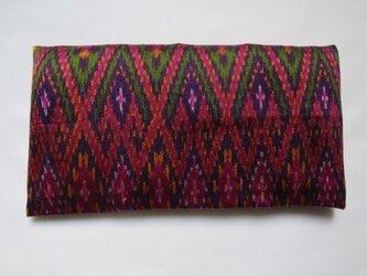 手織り絣 アイピロー No.017の画像