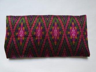 手織り絣 アイピロー No.020の画像