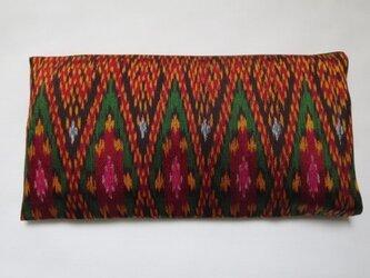 手織り絣 アイピロー No.026の画像