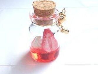 小瓶の喫茶店 苺ソーダのストラップの画像