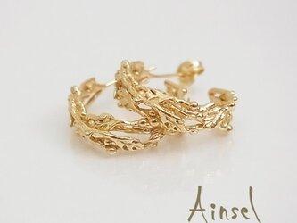 栄光の王冠ピアス(gold)の画像