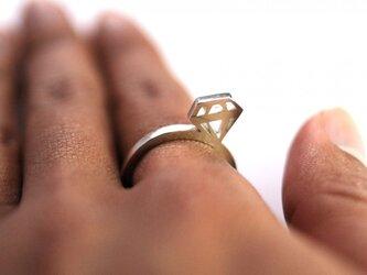 T様 オーダー品 ダイヤモンド ネックレストップの画像