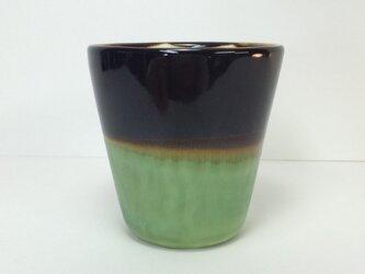 Meoto cup/S(Kuro-tenmoku/bronze)の画像