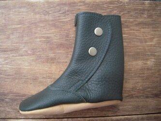 ブーツ型キーケース*ダークグリーンの画像