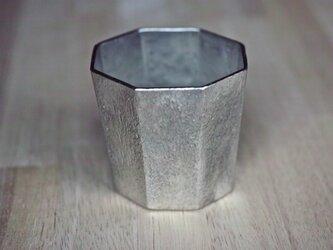 錫製 コップ(八面)の画像
