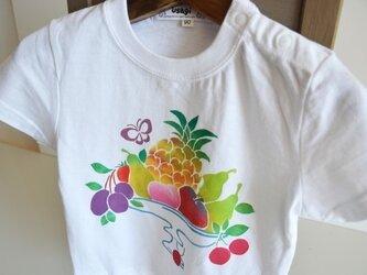 名入れ無料 子供用Tシャツ~フルーツ~の画像