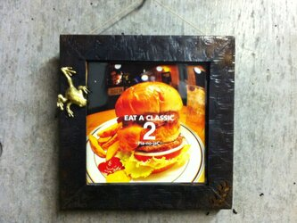 CDフレーム−カエルの画像