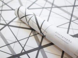 クロスラッピングペーパー 幾何学模様【geo-graphics】の画像