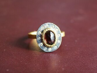 Color change Garnet Ringの画像