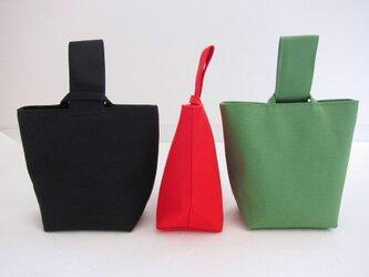 onigiri bag [black]の画像