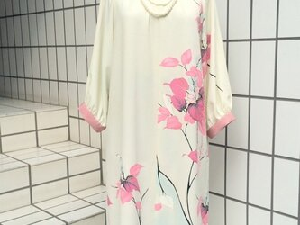 【SOLD OUT】桐の花のワンピースの画像