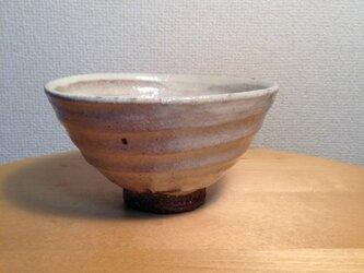 粉引き飯碗の画像