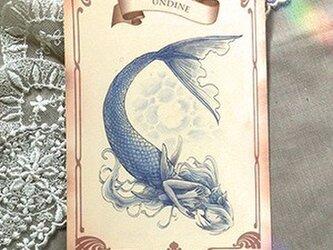 妖精さん5種アンティーク風ポストカードセットの画像
