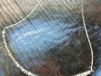 星くずのネックレスの画像