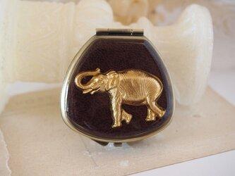 クラシカル小物入れ ゾウの画像