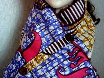 ネックウォーマー☆Africanの画像