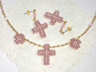 クロス×クロス ピンクの画像