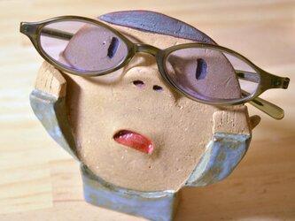 めがね男子のメガネ置き(こども)の画像