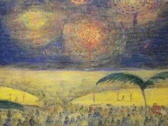 ヒルトンの花火の画像