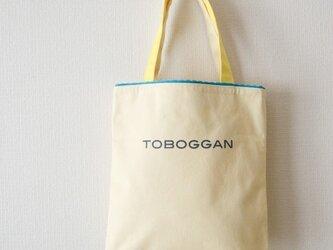 トートバッッグ/黄色の画像