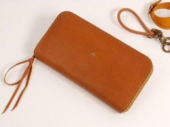 【受注製作】財布 rzw [ブラウン]の画像
