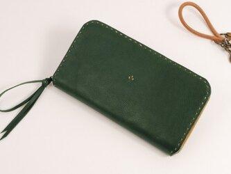 【受注製作】財布 rzw [グリーン]の画像