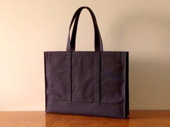 A3 Tote Bag [ダークブラウン]の画像