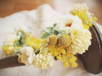 order asymmetry flower crownの画像