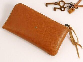 【受注製作】財布 lzw [ブラウン]の画像