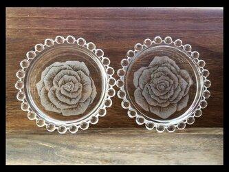 プレート--薔薇の画像