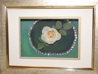 薔薇のレカンフラワー 一厘の薔薇の画像