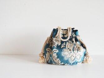 ベニスマリンバッグ ブルーの画像