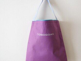 ワンストラップバッグ/紫(ロゴ)の画像