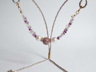羽織紐 シルキーバイオレットの画像