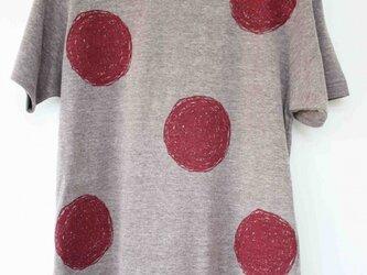 大きなドットTシャツ (R)の画像