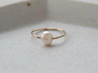 ibitsu  Ring (K10/pearl)の画像