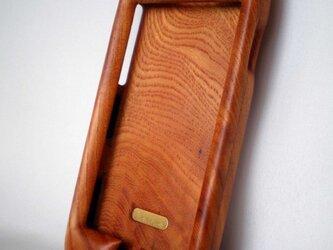 【受注制作】木製iPhone6用ケース(けやき・フルカバー)の画像
