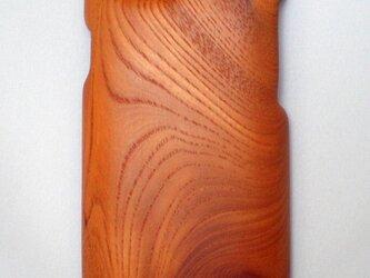 木製iPhone6用ケース(けやき・片面カバー)の画像