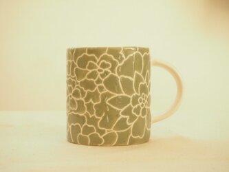 マグカップ(オリーブ色)の画像
