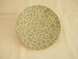 中皿(オリーブ色)の画像