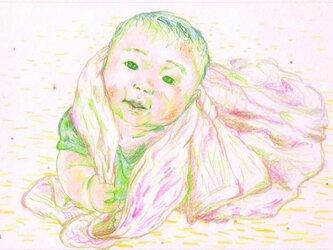 赤ちゃんイラスト化☆の画像
