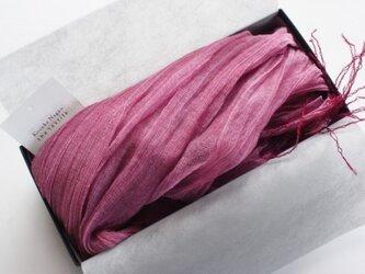 シルク コットン shawlの画像