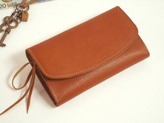 財布 wrap-L (HL) [ブラウン]の画像