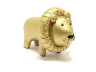 ライオン(ゴールド)の画像