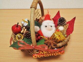 いっぱい詰め込み☆クリスマス籠の画像