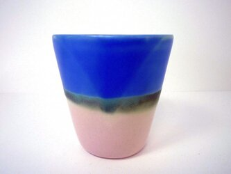 Meoto cup / small (Pink/blue)の画像