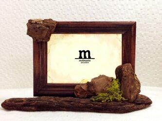 流木のフォトスタンド/横の画像