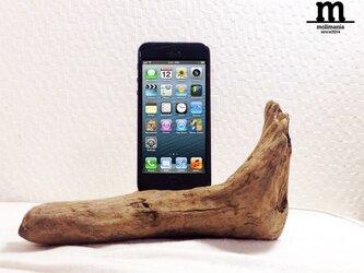 流木のIphoneスタンド(5,5s)の画像