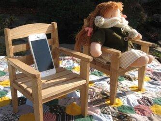 ウォルドルフ人形の椅子の画像