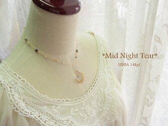 *Mid Night Tear* 14kgfネックレスの画像
